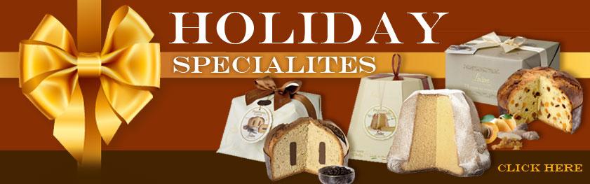 Holiday Specialties